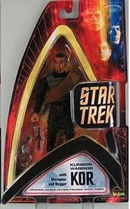 Star Trek Original Series Action Figure Wave Three: Klingon Warrior Kor with Disruptor and Dagger