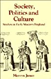 Society, Politics and Culture: Studies in Early Modern England (Past and Present Publications)