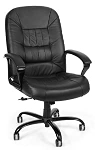 OFM 800-L Executive Leather Chair, Big/Tall
