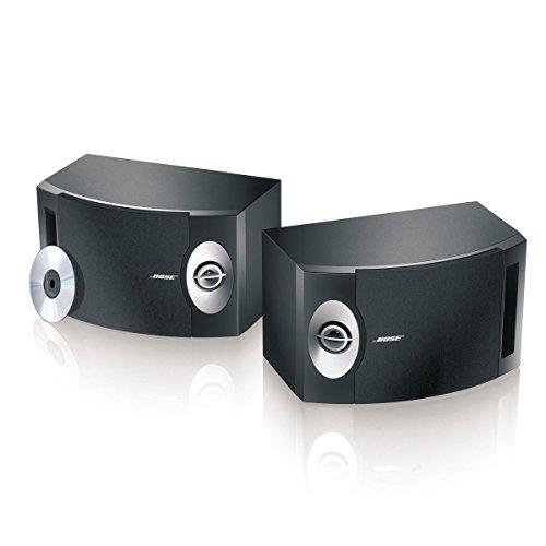 Bose 201-V Stereo Loudspeakers (Pair) - Black front-462621