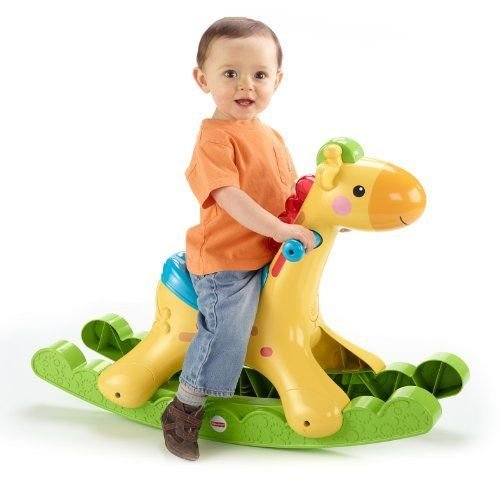 Lovely Kids New Fisher-Price Rockin Tunes Giraffe front-904624