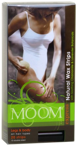 Moom Beauty Products Pre-Waxed Strips for Legs and Body [Health and Beauty]