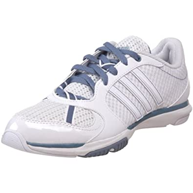 adidas Women's Core 50 Mesh Cross Training Shoe,White/White/Vision Grey,10.5 M US