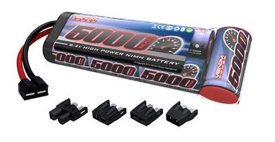 Venom Group International 1527-7 7-c 8.4V 5000mAh NiMH Flat Battery Pack with Universal Plug