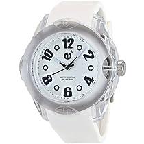 Big Sale Best Cheap Deals Tendence Women's 2013053 Rainbow Hi-Tech Polycarbonate White Watch