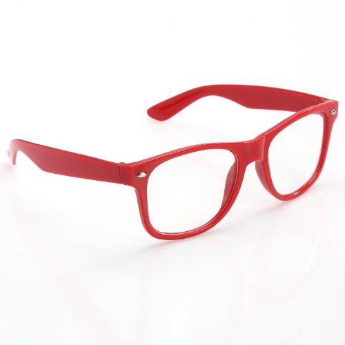 ILOVEDIY Unisex Sonnenbrille Wayfarer Brille Designer Fashion rot Unisex Sonnenbrille Gestell