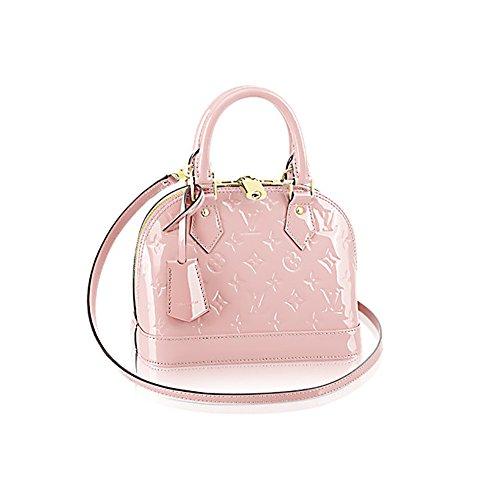 Louis Vuitton Monogram Vernis Leather ALMA BB Cross-Body Carry Handbag Article: M50415 RoseBalleria (Louis Vuitton Clothes compare prices)