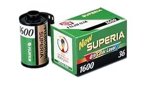 Fujifilm Fujicolor Superia 1600 Color Negative Film ISO 1600, 35mm, 36 Exposures