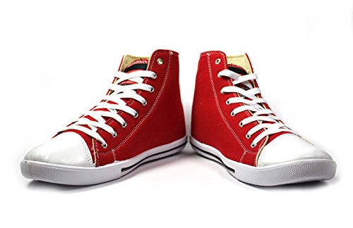 Globalite Men Red PU canvas shoes UK 9