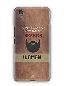 YuBingo Beard Mobile Case Back Cover for OnePlus X