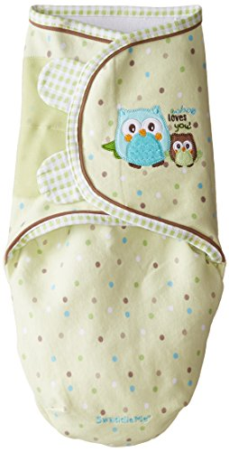 Summer Infant SwaddleMe Pure Love Adjustable Infant Wrap , 7-14 pounds,Owl