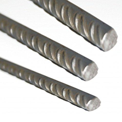 Bewehrungsstahl Betonstahl Ø 4mm bis 16mm verschiedene Längen (1000 mm Ø 4 mm)