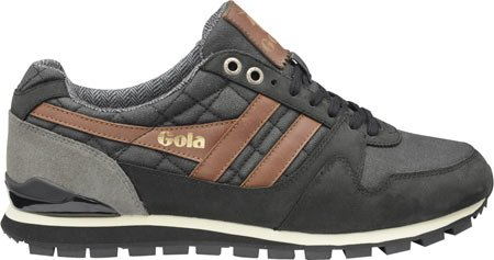 Gola Men's Ridgerunner CC Casual Sneaker,Black Canvas,US 11 M