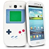 Nintendo Game Boy Soft Skin Silicone Case for Samsung Galaxy S3 i9300 - White