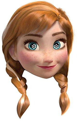 Disney Frozen Anna Party Face Mask