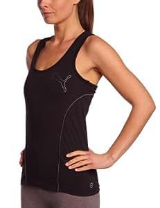 Puma Débardeur Femme Noir Turbulence FR : 44 (Taille Fabricant : XL)