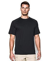 Under Armour Men\'s Tactical Tech Shirt, Black, Medium