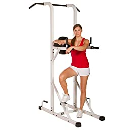 XMark Power Tower with Dip Stand and Pull-Up Chin-up Bar XM-4446