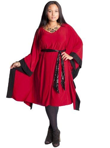 Buy IGIGI by Yuliya Raquel Plus Size Ali Dress in Red