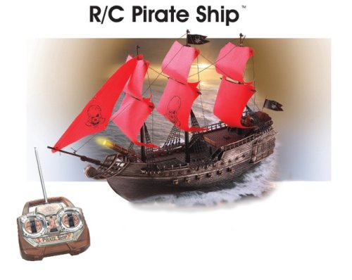 Buy World Racing brown/red Red Pirate Ship Remote