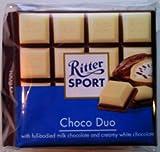 Ritter Sport Choco Duo Chocolate - 5 x 100g