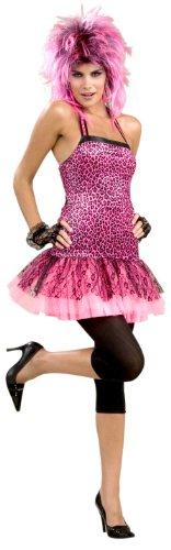 Forum Novelties Women's 80's Neon Funk Dress. Standard Size.