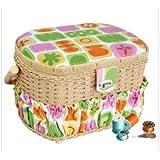 Michley Electronics FS-095 Lil Sew 42pc Sewing Basket (FS-095)
