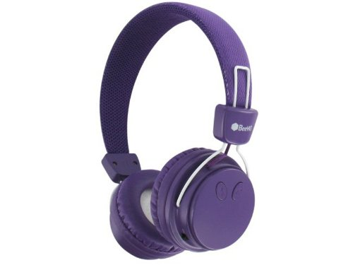 casque beewi bbh120 violet bluetooth et filaire nomade. Black Bedroom Furniture Sets. Home Design Ideas