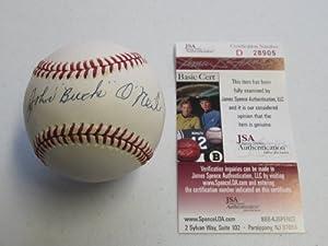 Buy John Buck O'Neil Autographed Rawlings Official National League Baseball JSA COA