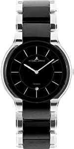 Jacques Lemans Men's 1-1581A Dublin Classic Analog with HighTech Ceramic and Sapphire Glass Watch