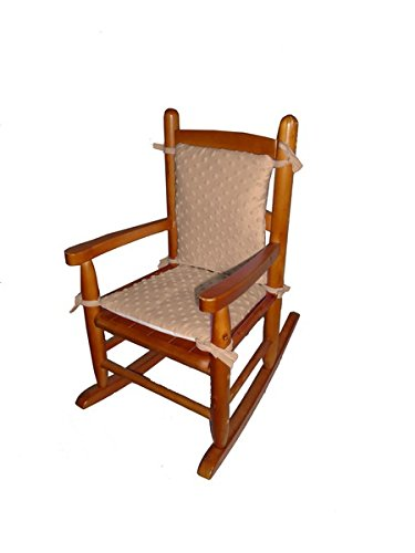 Baby Doll Heavenly Soft Child Rocking Chair Pad, Camel