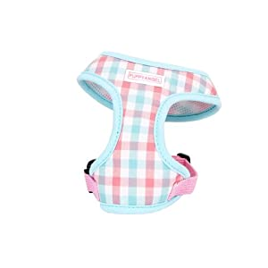 Puppy Angel Gingham Girl Soft Harness, XL, Mint
