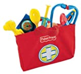 Toy - Mattel Fisher-Price L6556 - Brilliant Basics Medical Kit, Arzttasche