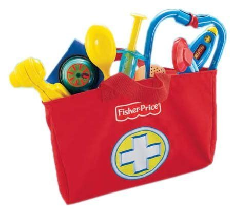 Mattel Fisher-Price Medical Kit - juguetes y kits de ciencia para niños (Multicolor)