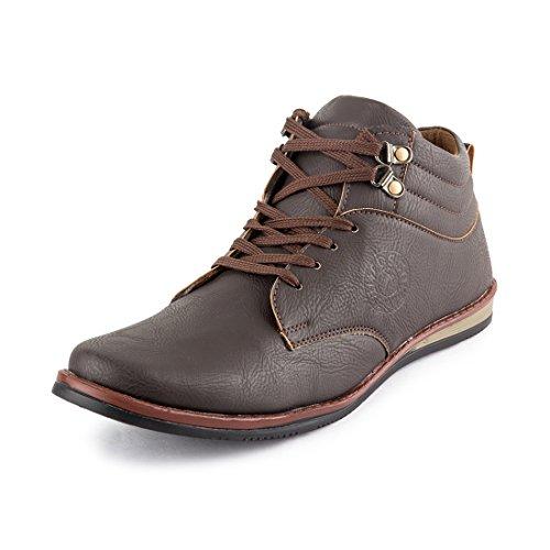 Rosso Italiano Men's Brown casual Shoe (rib499br105)9