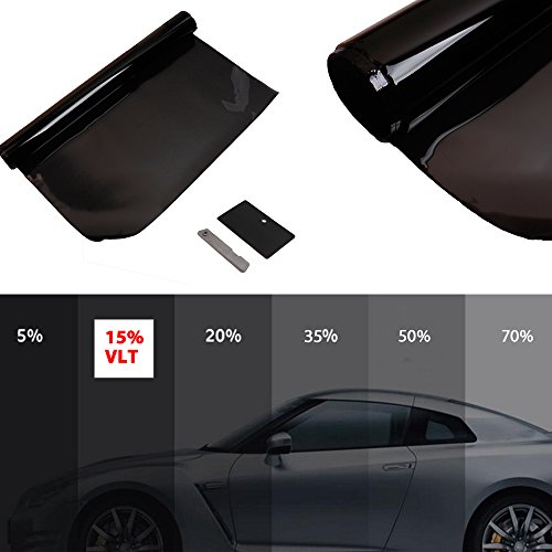 Airkoul Tint Film 15% VLT Roll 2 PLY Sun Protection Auto House Tinting Kit For Windows And Glasses (House Window Tint Roll compare prices)