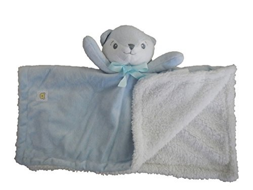 Piccolo Bambino Blue Fox Security Blanket - 1
