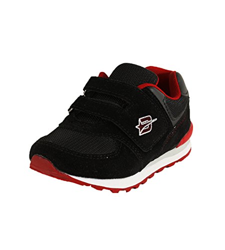 Dream Seek Boys Toddler 4502 Black/Red Sneaker - 10 M US Toddler