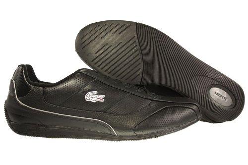 6e7a9e4cddcf0 Lacoste Radium L SN SPM Leather Mens Shoes  7-21SPM1211237  Black Dark Grey  Mens Shoes 7-21SPM1211237 Review