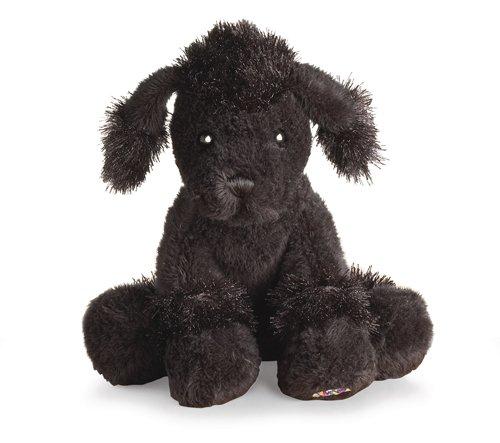 """Ganz Lil'Kinz Poodle 6.5"""" Plush, Black - 1"""