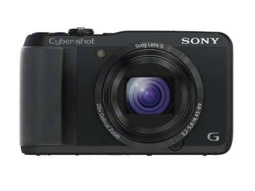 Sony Cyber-shot DSC-HX30V 18.2 MP Exmor R CMOS Digital Camera with 20x Optical Zoom and 3.0-inch LCD (Black) (2012 Model)