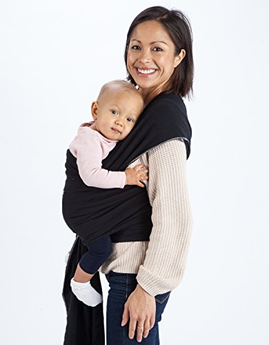 Discover Bargain Mo+m® Baby Wrap (Black) - Ultra Soft Infant Sling Child Carrier Keeps Your Baby Co...