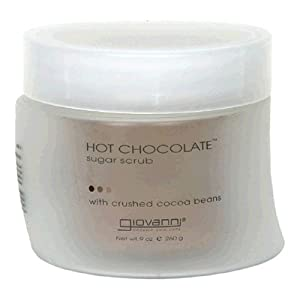 Giovanni Sugar Scrub, Hot Chocolate, 9 oz (260 g) (Pack of 2)