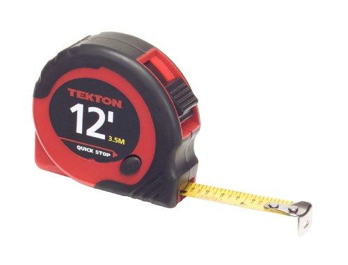 TEKTON 71951 12-Feet by 1/2-Inch Tape Measure