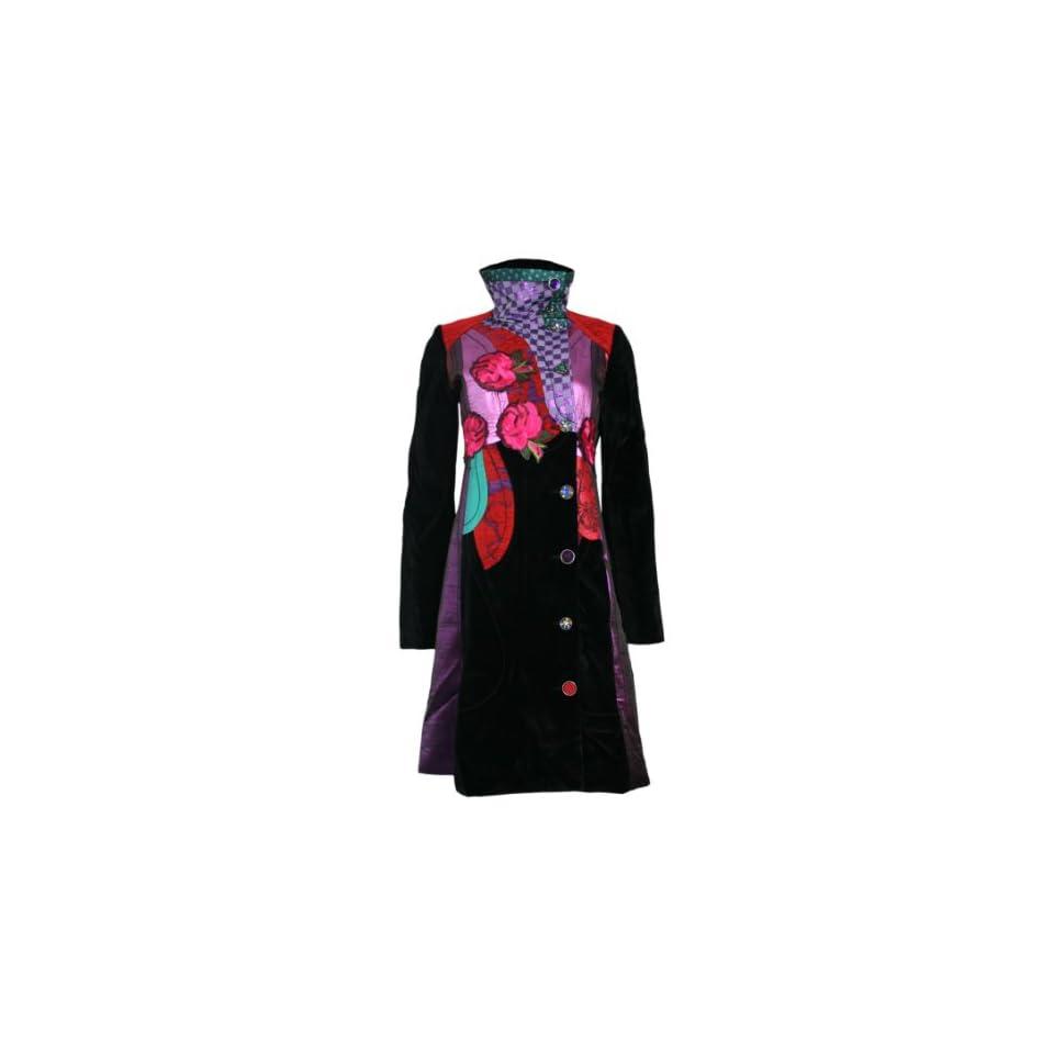 Designer NIGHT Mantel LAST DESIGUAL Jacke on BLUES Damen b7y6gf