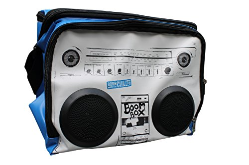 Boom Box Cooler Bag with real speakers for MP3s