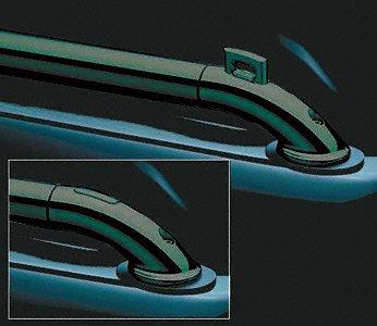 Putco 88833 Black Powder Coated Stainless Steel Locker Side Rails