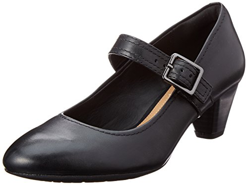clarks-womens-black-denny-date-leather-mid-court-shoes-4