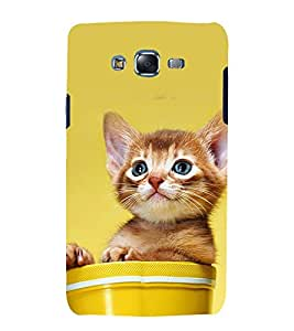 printtech Cute Cat Kitten Back Case Cover for Samsung Galaxy J7 (2016 EDITION)
