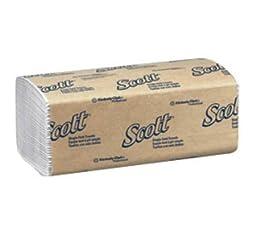MCK17004101 - KIMBERLY CLARK Paper Towel Scott Single-Fold 9.3 X 10.5 Inch